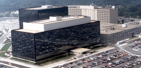 Yes this is a picture of NSA Headquarters